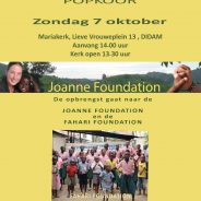 7 oktober Benefietconcert