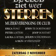2 November De Club ziet weer sterren