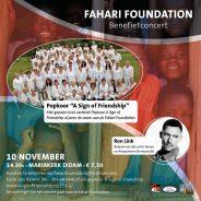 10 November Benefietconcert Fahari Foundation Mariakerk Didam